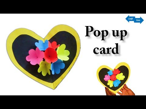 HM How to make designer popup card # paper gift# this paper craft idea that you should know