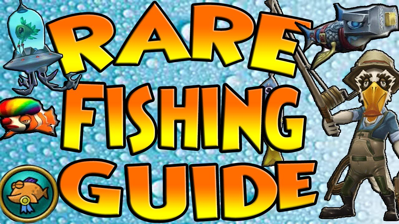 Wizard101 Rare Fish Guide How To Level Up In Fishing Fast Youtube