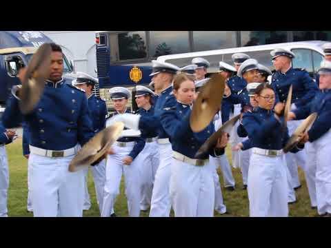 Air Force v Navy Drum Battle 2017