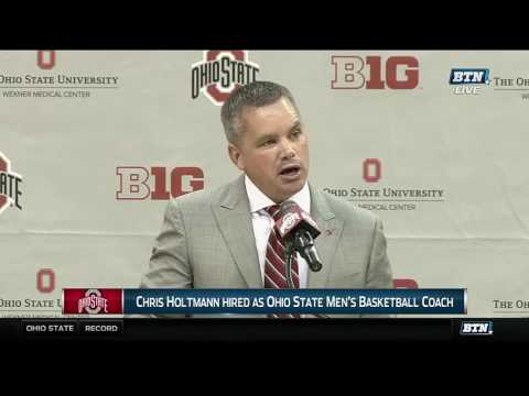 Chris Holtmann Introductory Press Conference