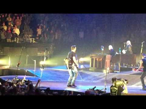 Eric Church Dixie Chicken Little Feat cover in Denver with Chuck Leavell