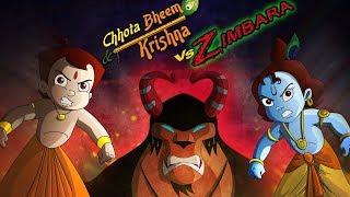 Chhota Bheem And Krishna Vs Zimbara | Full Movie Now Available Online