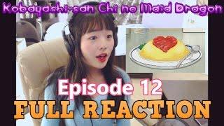 Kobayashi-san Chi no Maid Dragon Episode 12 LIVE REACTION!!