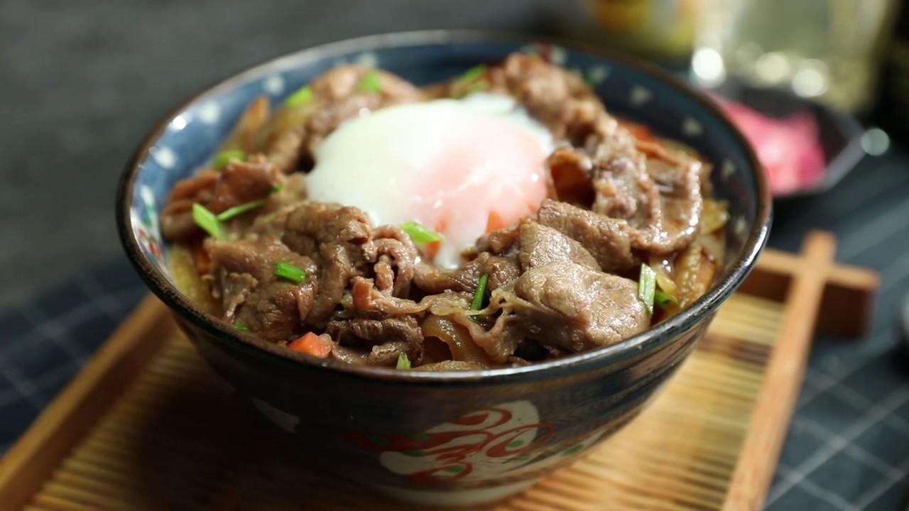 ข้าวหน้าเนื้อ (กิวด้ง)   เมนูอาหารญี่ปุ่นทำง่ายได้ที่บ้าน