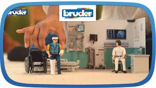 bworld Krankenstation -- 62711 -- Bruder Spielwaren