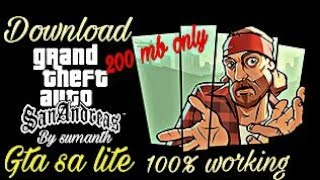How to download gta sa under 200 mb