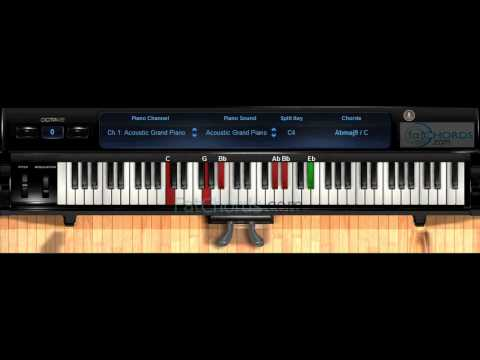 Fat Chords #50 - Twinkle Twinkle Little Star Piano Progression Voicings Phat Neo Soul Jazz Church