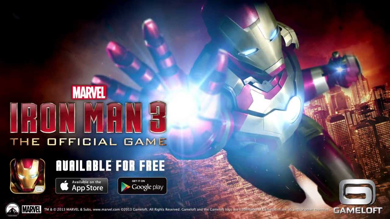 Iron Man 3: The Official Game - Launch Trailer - YouTube