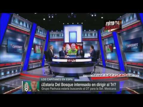 Grupo Pachuca busca traer a Vicente del Bosque como DT de Mexico - Los Capitanes