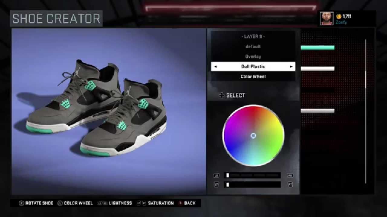 2c8d435c6097 NBA 2K16 Shoe Creator - Air Jordan 4