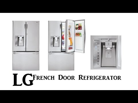 Lg Lfxs30766s Stainless Steel French Door Refrigerator Lg French