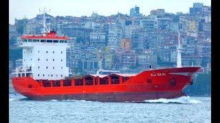 Universal cargo ship ALI AKAY in Istanbul strait