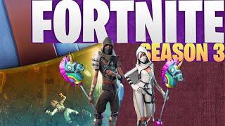 Fortnite Season 3! New battle pass. Squads Win. Stallion801