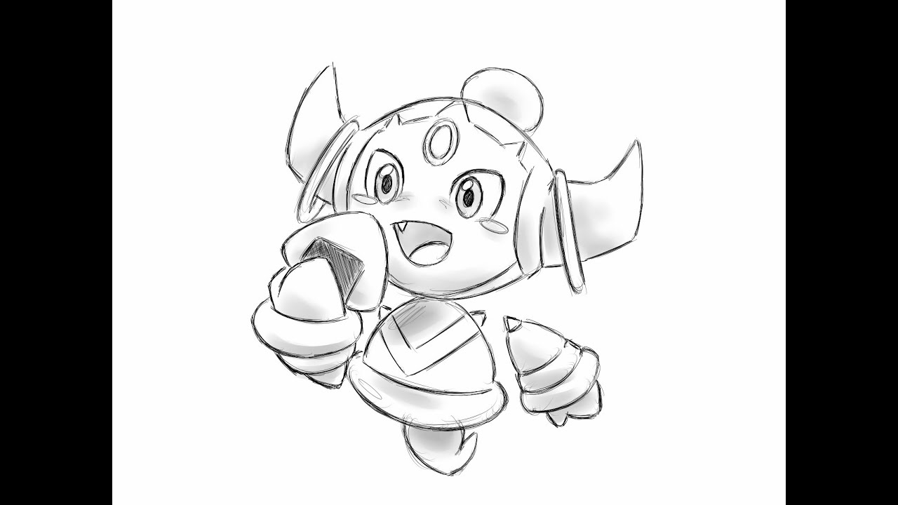 Pokemon Hoopa Unbound Coloring Pages