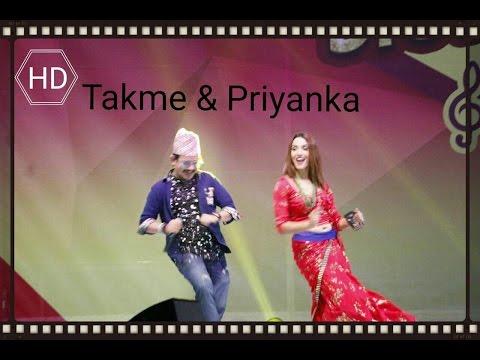 Priyanka & Takme Buda (WBR) In Qatar|| Vodafone Ncell Campaign