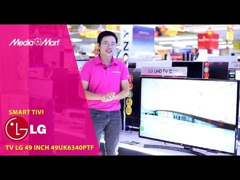 Smart Tivi LG 49 inch 49UK6340PTF – Màn hình 4K sắc nét