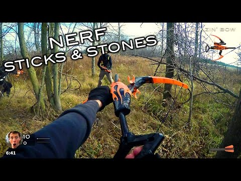 Thumbnail: Nerf meets Call of Duty: Sticks and Stones (First Person in 4K!)