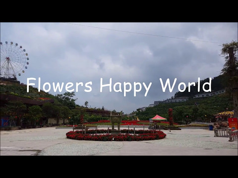 China Travel Diary #3 | Enping | Flowers Happy World