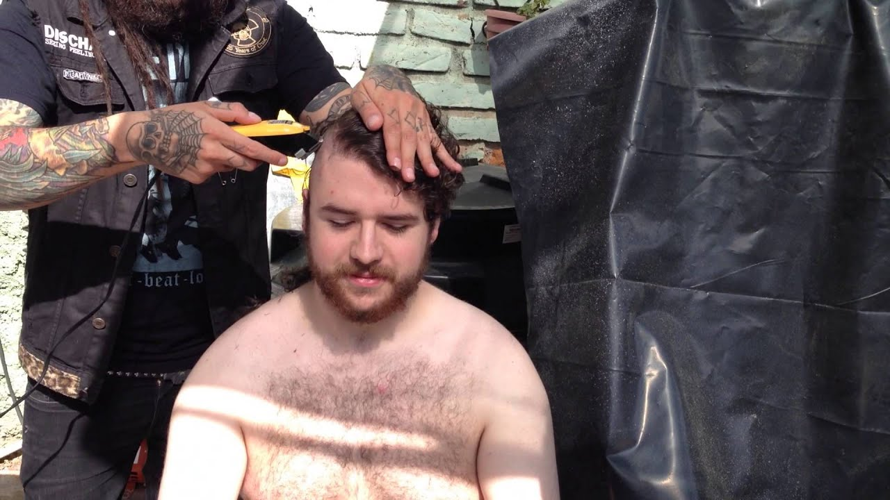 Head shaved todd