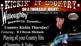 DJ Devon Michaels County Kickin Thursday