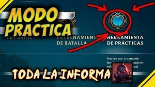 Modo PRÁCTICA / Sandbox TODO lo que DEBES SABER | Noticias League Of Legends LOL