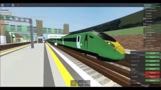 Trainspotting am Herrington | Mind The Gap | ROBLOX - umfasst 321 und Class 395