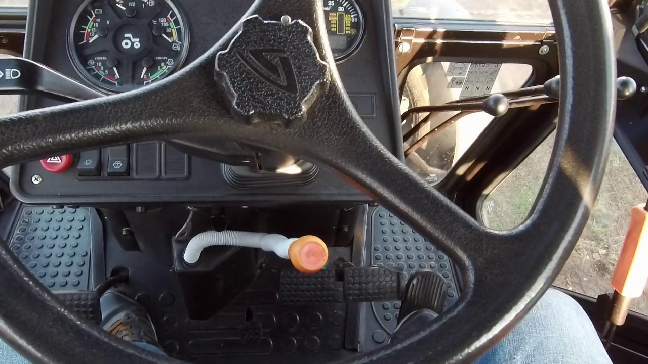 Как правильно преключать передачи на тракторе МТЗ 82.1