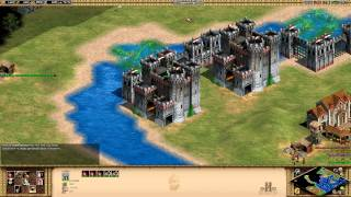 Age of Empires 2 HD Edition - Barbarossa - The Lombard League Walkthrough Gameplay