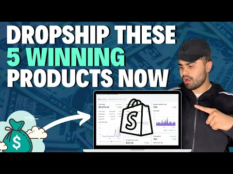 🤑 Top 5 WINNING Products To Dropship Right Now (August 2020) | Shopify Dropshipping thumbnail