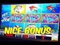 Off The Hook - Max Bet - Free Spin Bobber bonus - Slot Machine Bonus