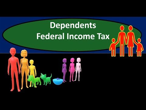 Dependents Federal Income Tax 2018 2019