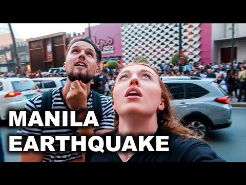 MANILA EARTHQUAKE! LIVE