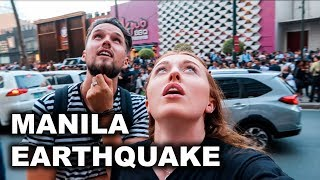 MANILA EARTHQUAKE! LIVE As It Happened 22nd April 2019