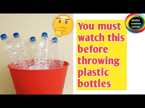 Plastic bottle craft idea easy diy#Best out of waste plastic bottle craft idea#How to reuse plastic.