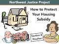 How to Protect Your Housing Subsidy: Information from WashingtonLawHelp.org