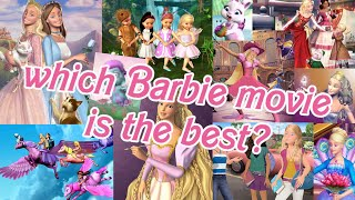 ranking every single barbie movie from the 2000s 🎨🩰🎀