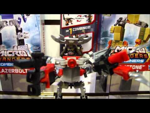 Toy Fair 2014\/Hasbro Media Day Transformers Kre-O Display