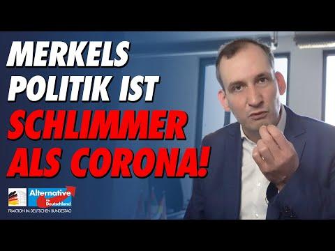 Merkels Politik ist schlimmer als Corona