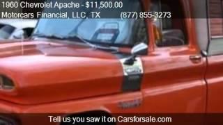 1960 Chevrolet Apache  for sale in Headquarters in Plano, TX
