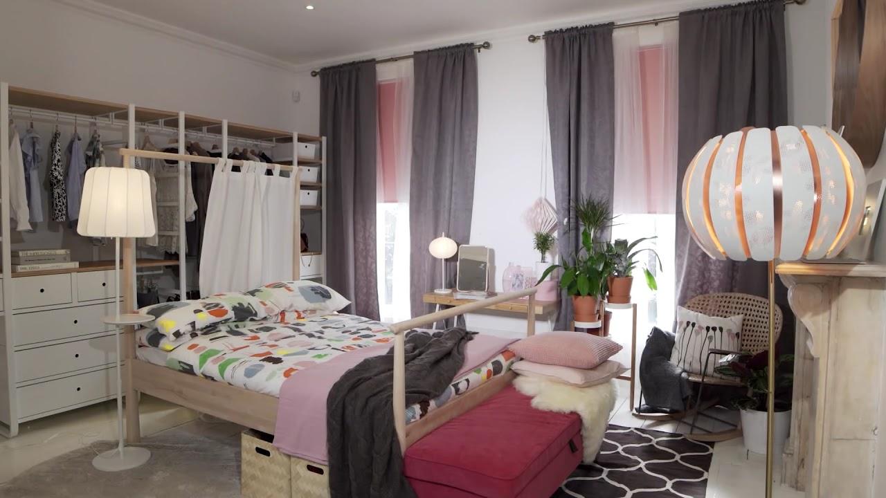 ikea bedroom tips make your room more zen  youtube