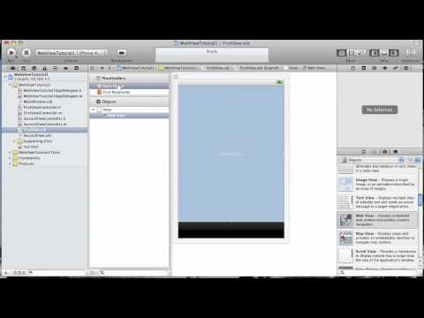 IPhone App Development Tutorial - Load A Local Html File Into A UIWebView.mov