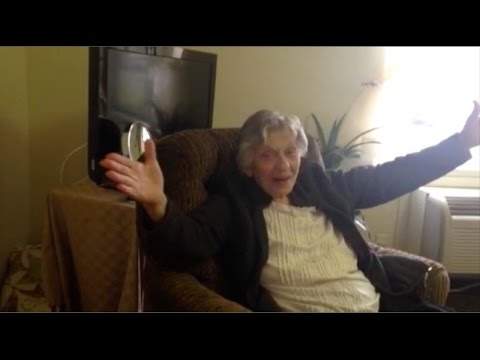 Elderly Woman finds out she gets to leave Nursing Home (Beautiful & Touching)