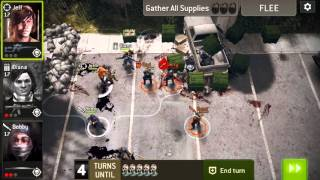 TWD: NML - The Compound - The Delivery Man - Level 18 - 3 Star
