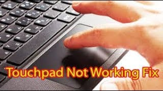 Touchpad not working: Fix Touchpad Mouse Problem of all Laptop