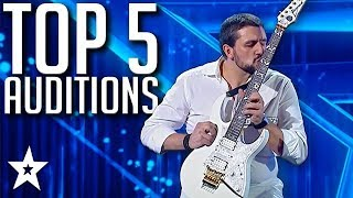 5 TOP Auditions on Romania's Got Talent 2020 | Got Talent Global