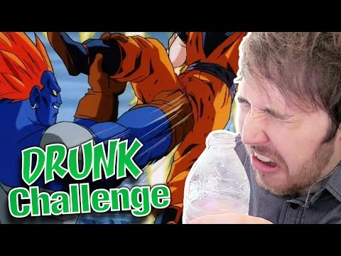 DRINK WHEN GOKU GETS HIT IN THE D*CK CHALLENGE