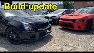 Replacing Airbags in my Cadillac CTS-V And a Builds update!
