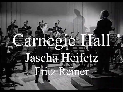 Heifetz Tchaikovsky Carnegie Hall
