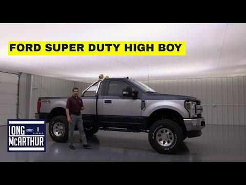 2019 FORD SUPER DUTY CLASSIC HIGHBOY EDITION
