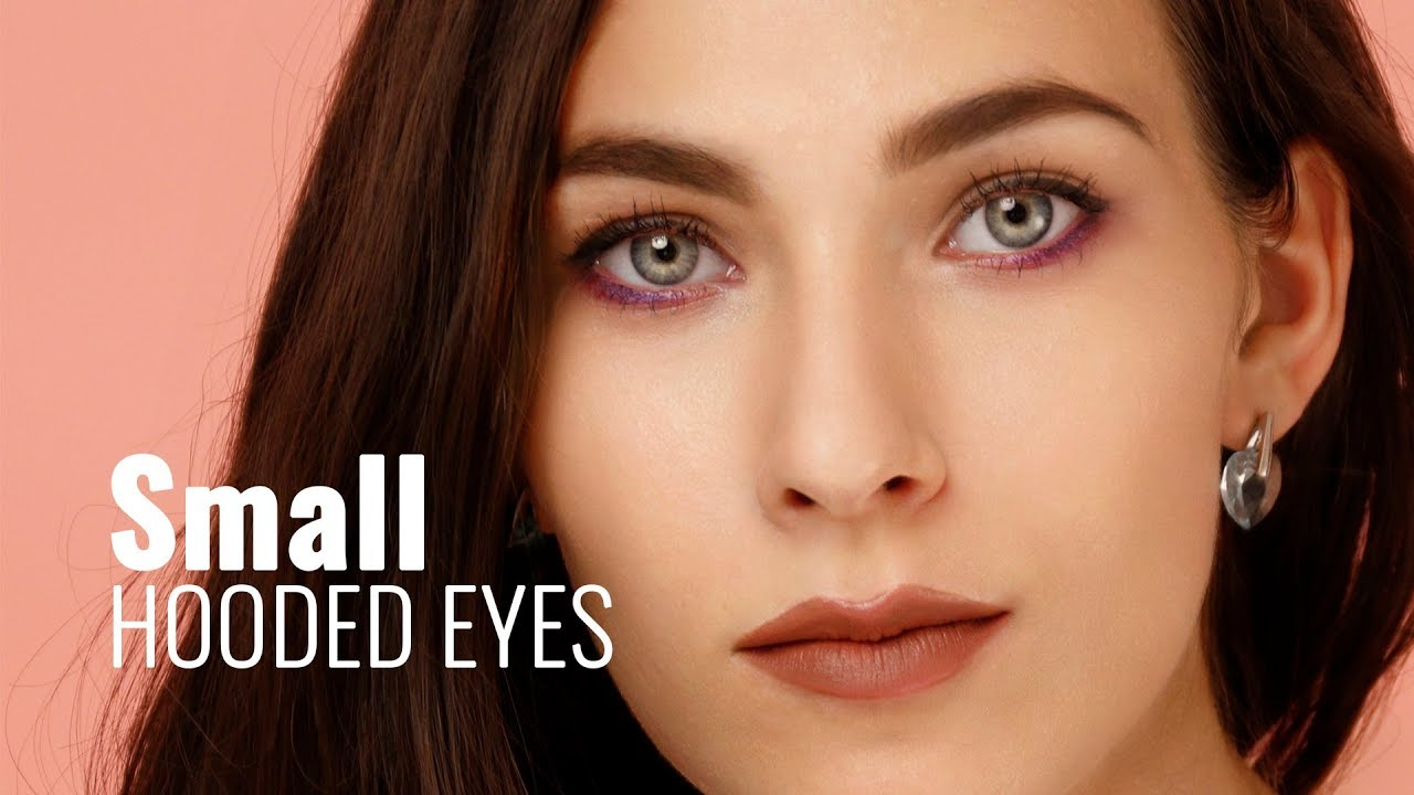 Eyeliner trick for small hooded eyes